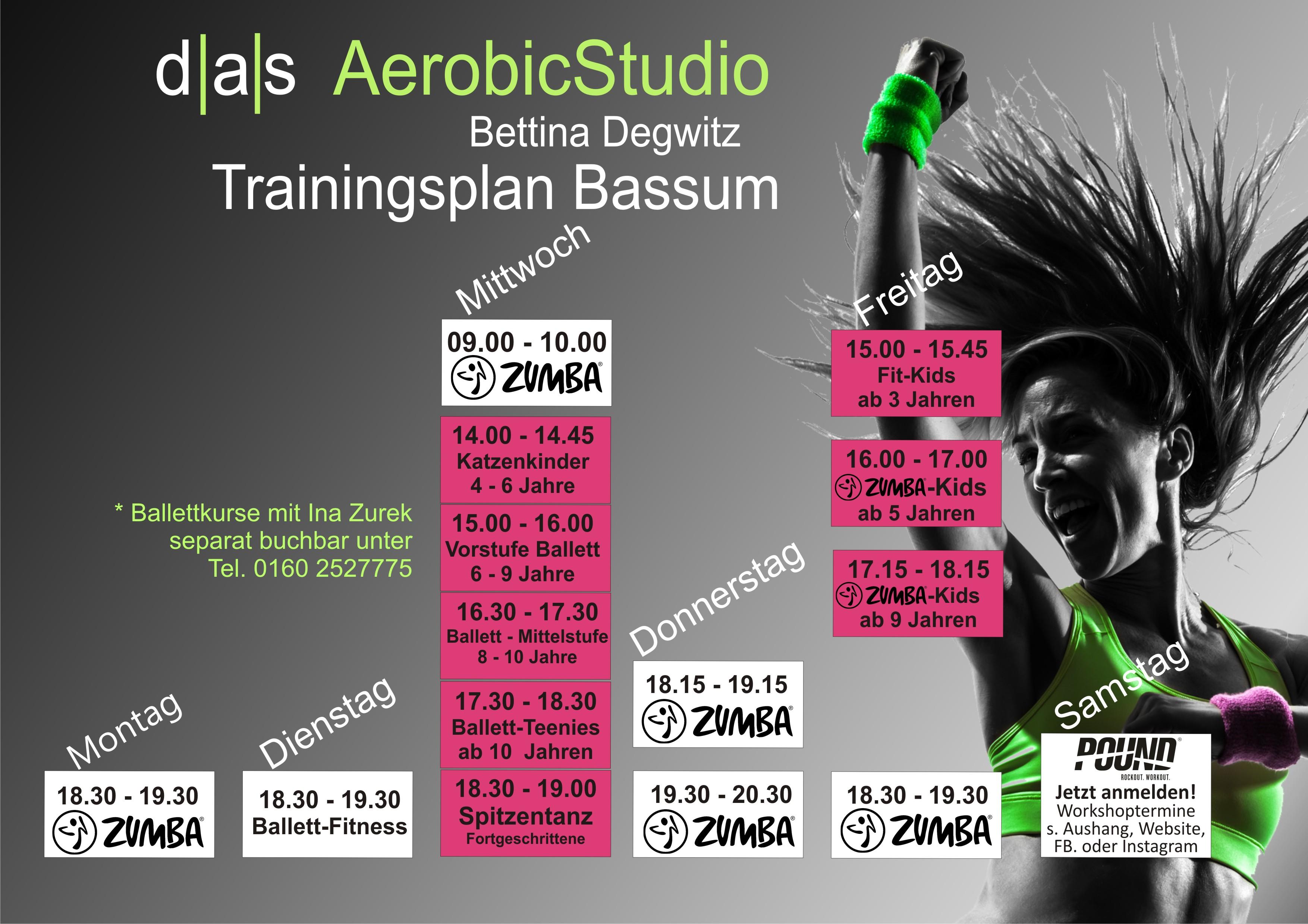 Trainingsplan Bassum 2018 fertig pink